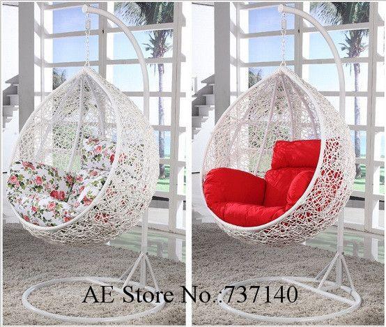 Balançoire suspendue chaise swing de jardin suspendu chaise oeuf chaise chaise berçante meubles foshan agent prix