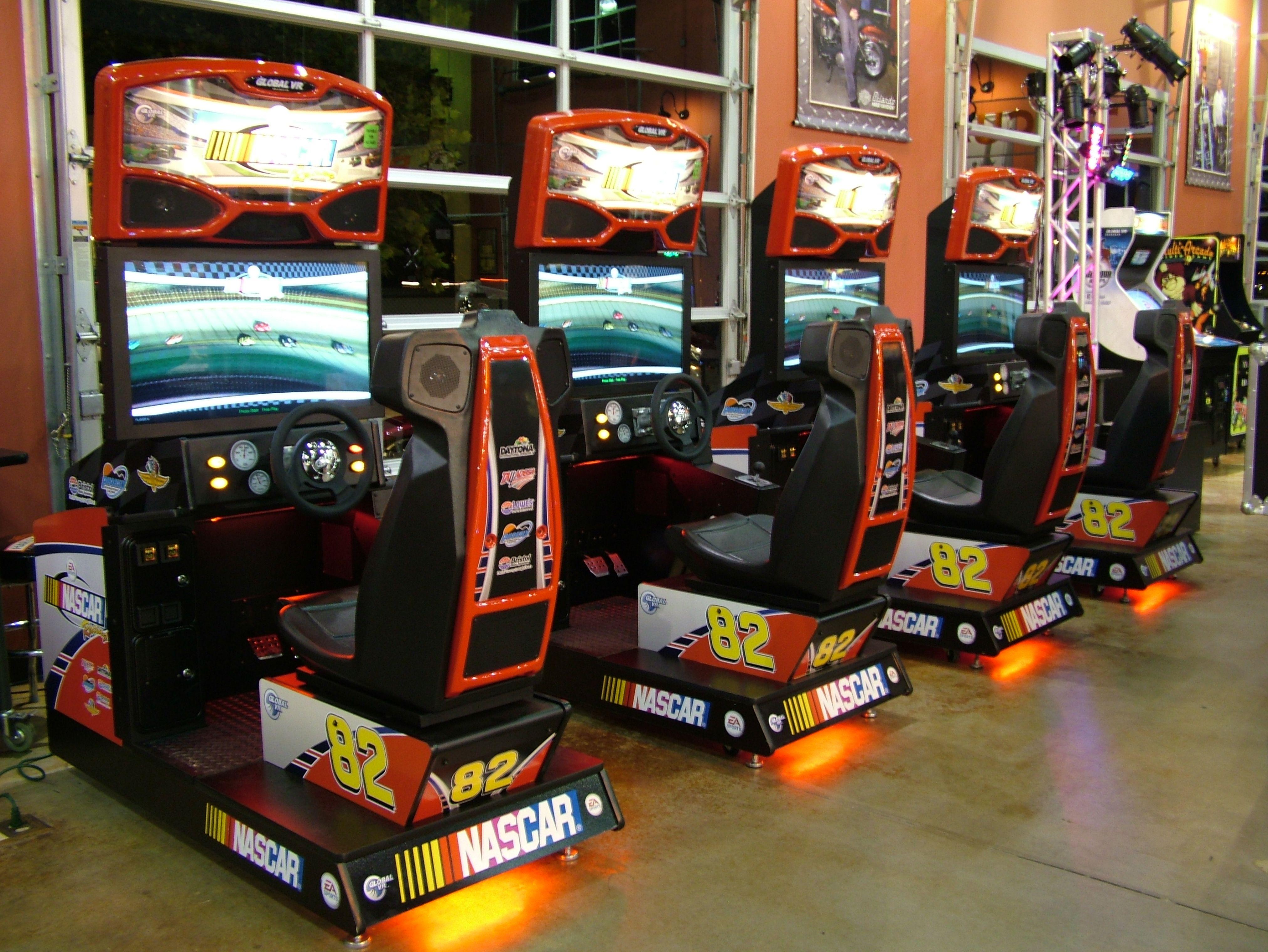 "NASCAR 32"" (With images) Arcade, Interactive game, Nascar"