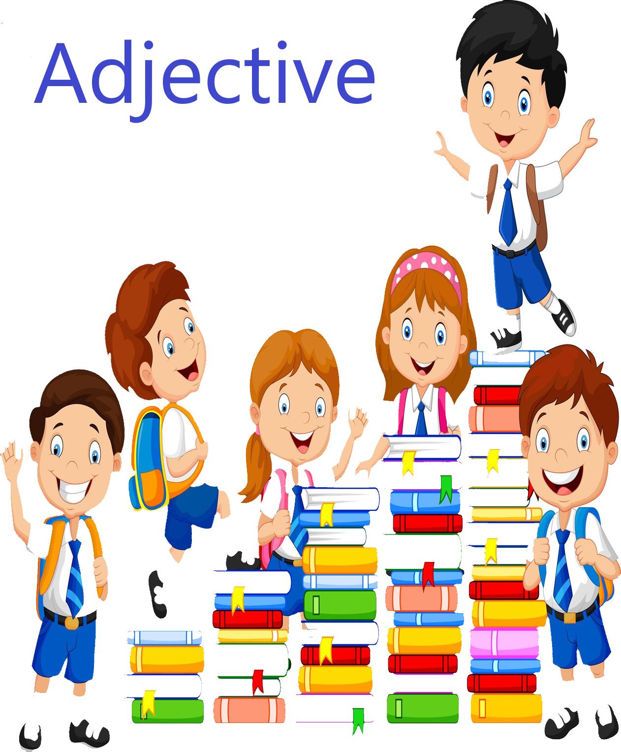 Cursive Adjectives Worksheets