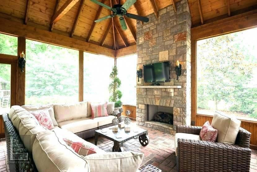Screened In Porch Cost 212 Screened In Porch With Fireplace Deck Fireplace Idea How Much Doe Screened Porch Designs Screened In Porch Furniture Porch Furniture