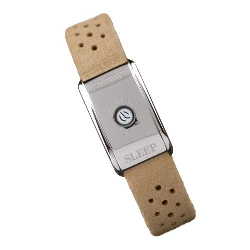 www.hogiesonline.co.uk - PHILIP STEIN CLASSIC STEEL LEATHER SLEEP BRACELET TO AID INSOMNIA