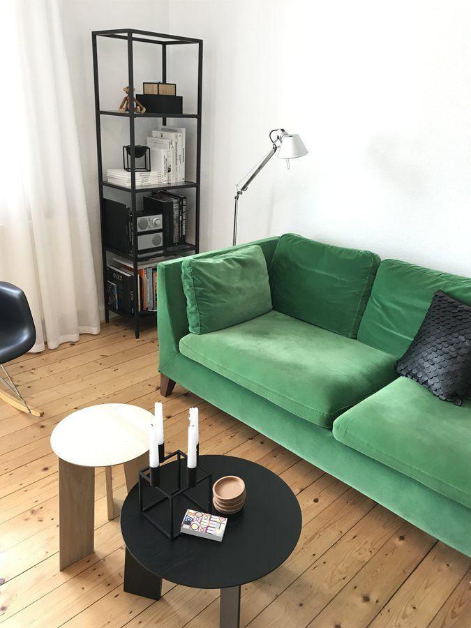 Markantestes Stück in unserer Wohnung ist wohl unsere grüne