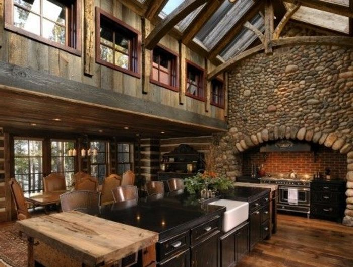 La cuisine en bois massif en beaucoup de photos! Home renovations