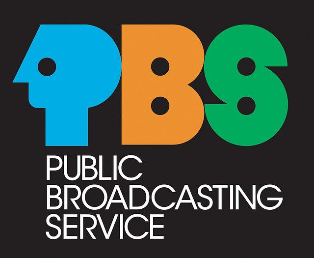 Old PBS Public Broadcasting Service Logo (19721984