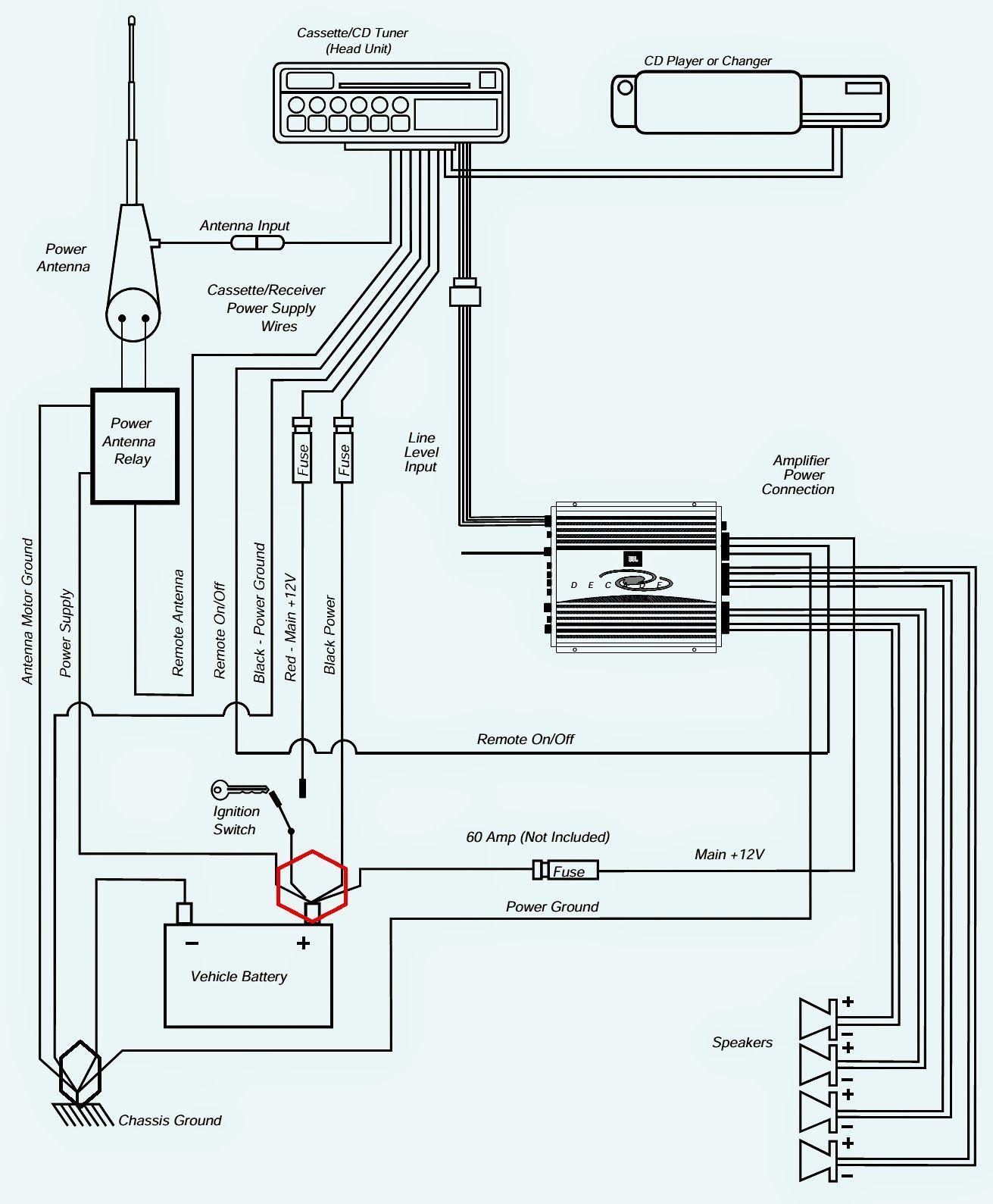 17 Good Sample Of Toyota Jbl Amplifier Wiring Diagram