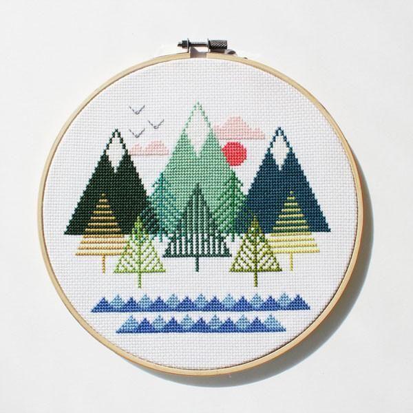 Photo of Modern Cross Stitch Patterns and Kits