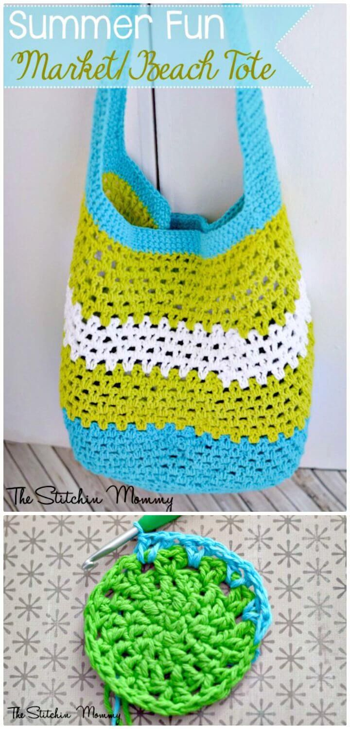 25 Free Crochet Patterns for Beginners step by step | Crochet summer ...
