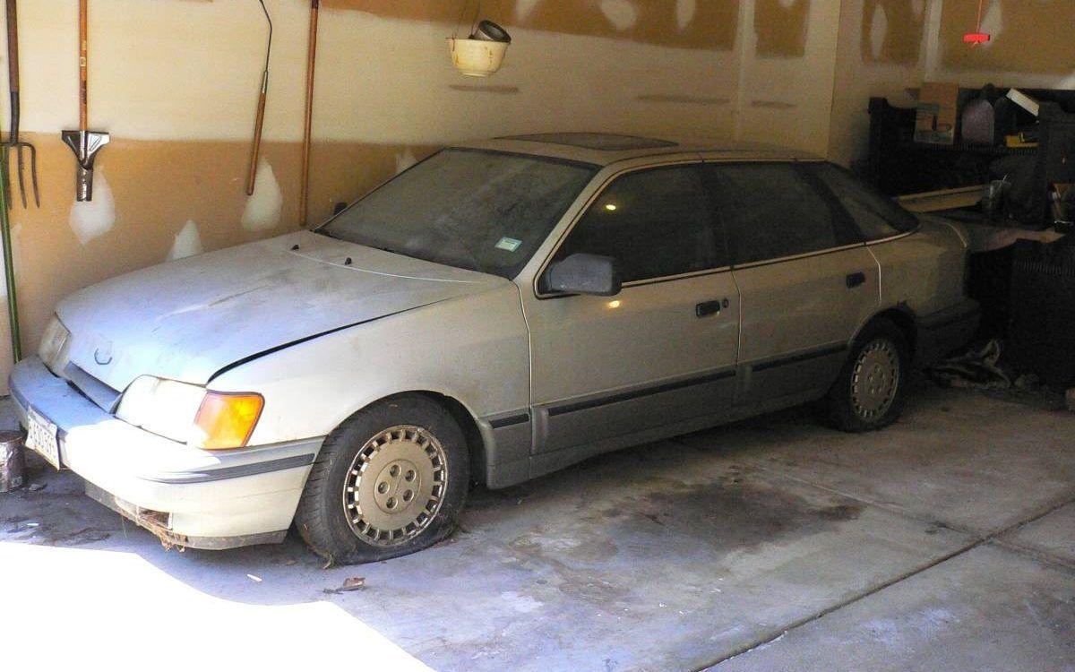 Forgettable Garage Find 1988 Merkur Scorpio Barn Finds Stills
