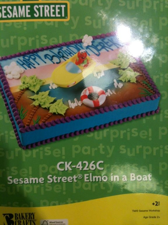Cake At Publix Sesame Street Party Elmo Cake Sesame Street