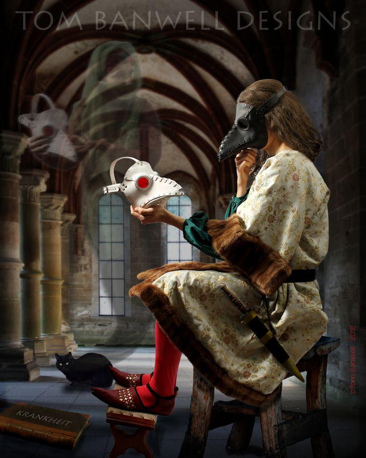 The Alchemist/'s Revenge gothic alchemy art CANVAS PRINT Jasmine Becket-Griffith