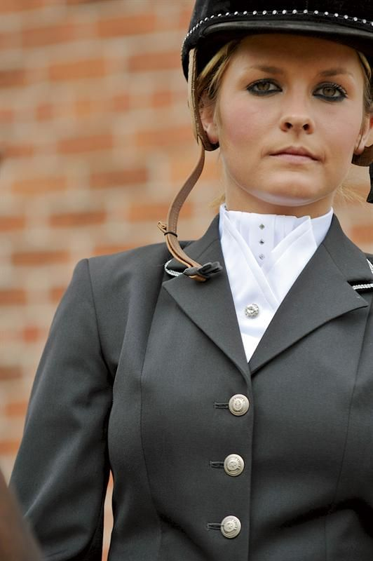 Showquest Chique Stock With Swarovski Crystal Equestrian Outfits Horse Riding