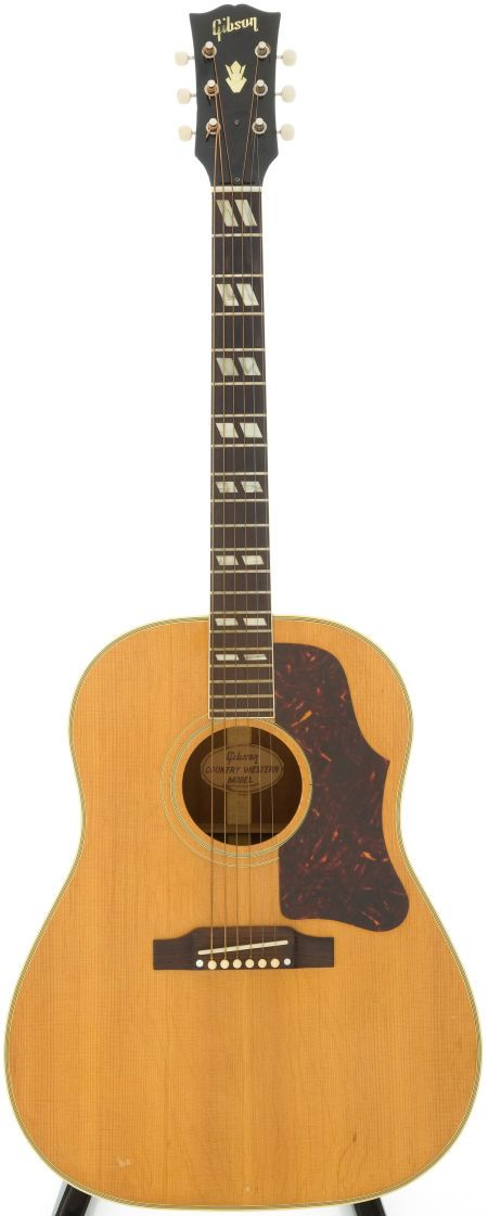 1961 Gibson Country Western Natural Acoustic Serial #40002