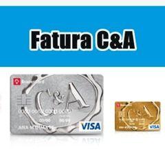 Tirar Fatura do Cartão Lojas C&A
