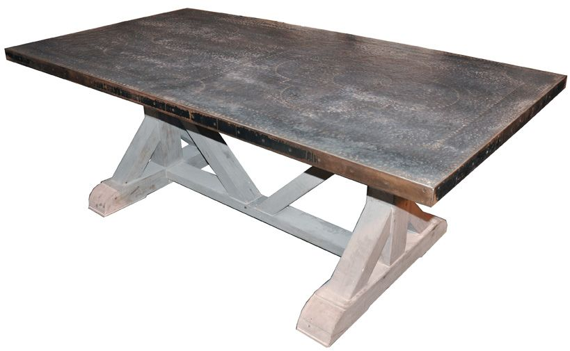 Zinc Table As Seen On Houzz