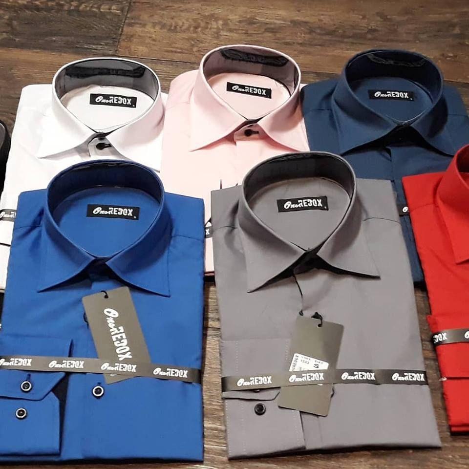 Overhemd Hoge Boord Heren.Just Arrived Top Overhemden Effen Hoge Boord Scherpe Prijs