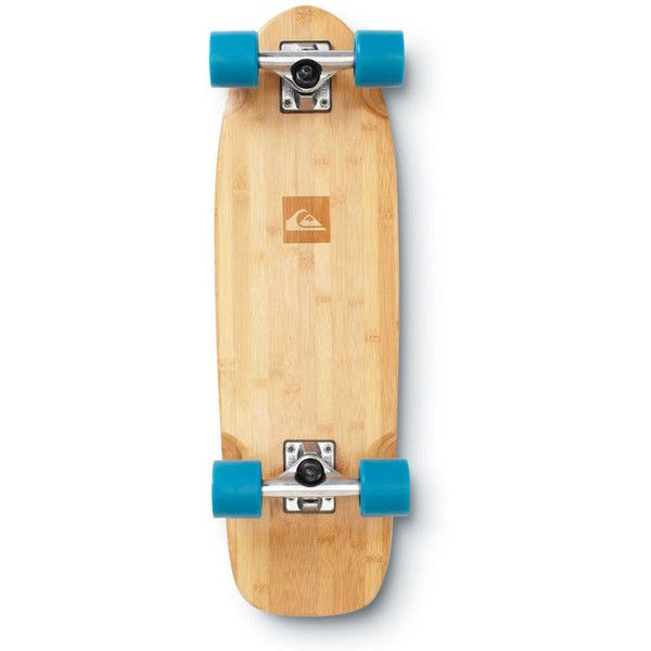 Quiksilver Classic Skateboard ($85) ❤ liked on Polyvore featuring fillers, skateboard, accessories, skate and transport