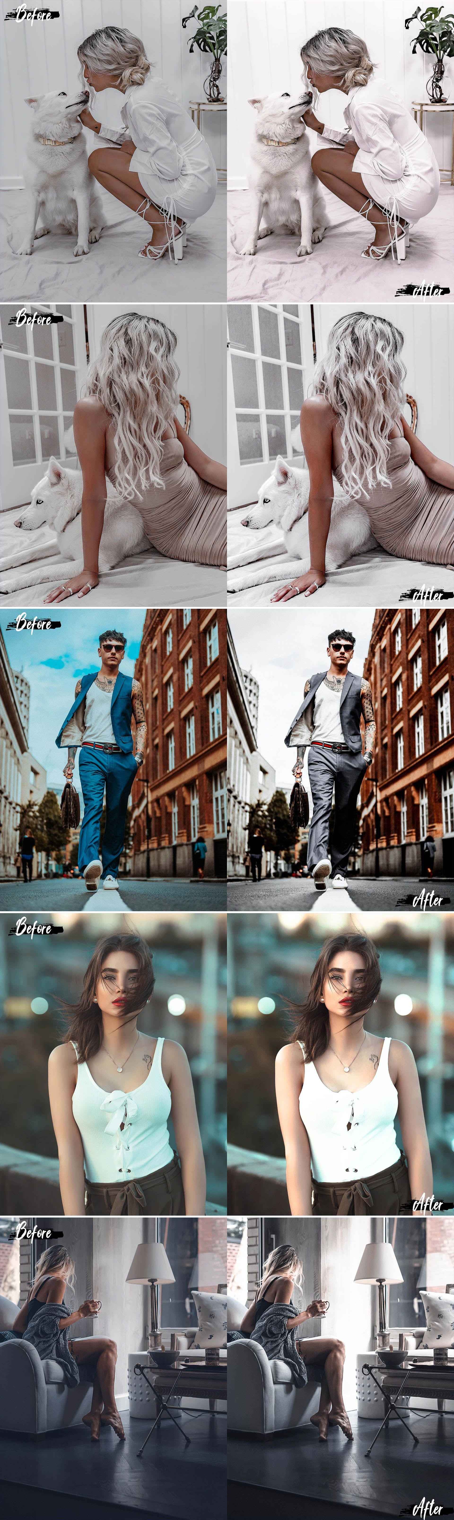 Neo Cream Theme Color Grading photoshop actions ACR LUT