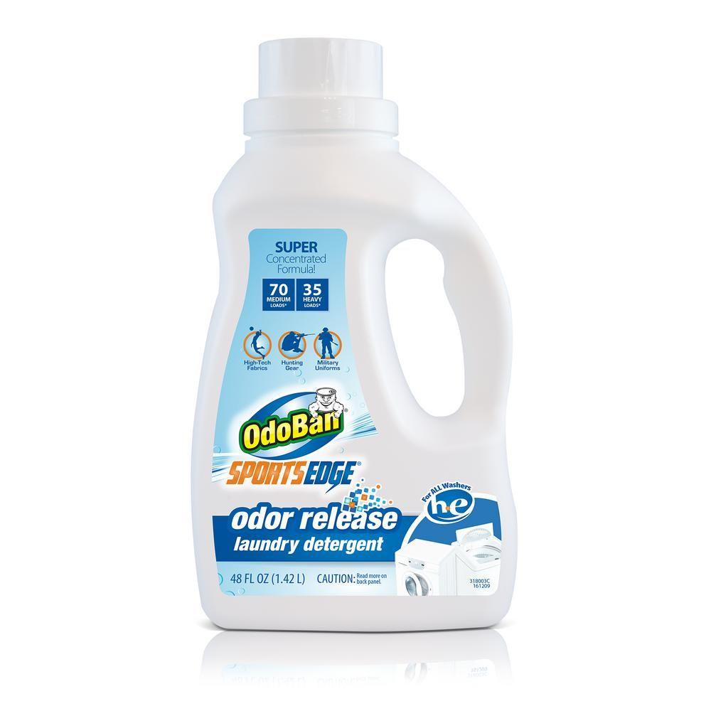 Odoban 48 Oz Sports Edge Odor Release Laundry Detergent 9686e73