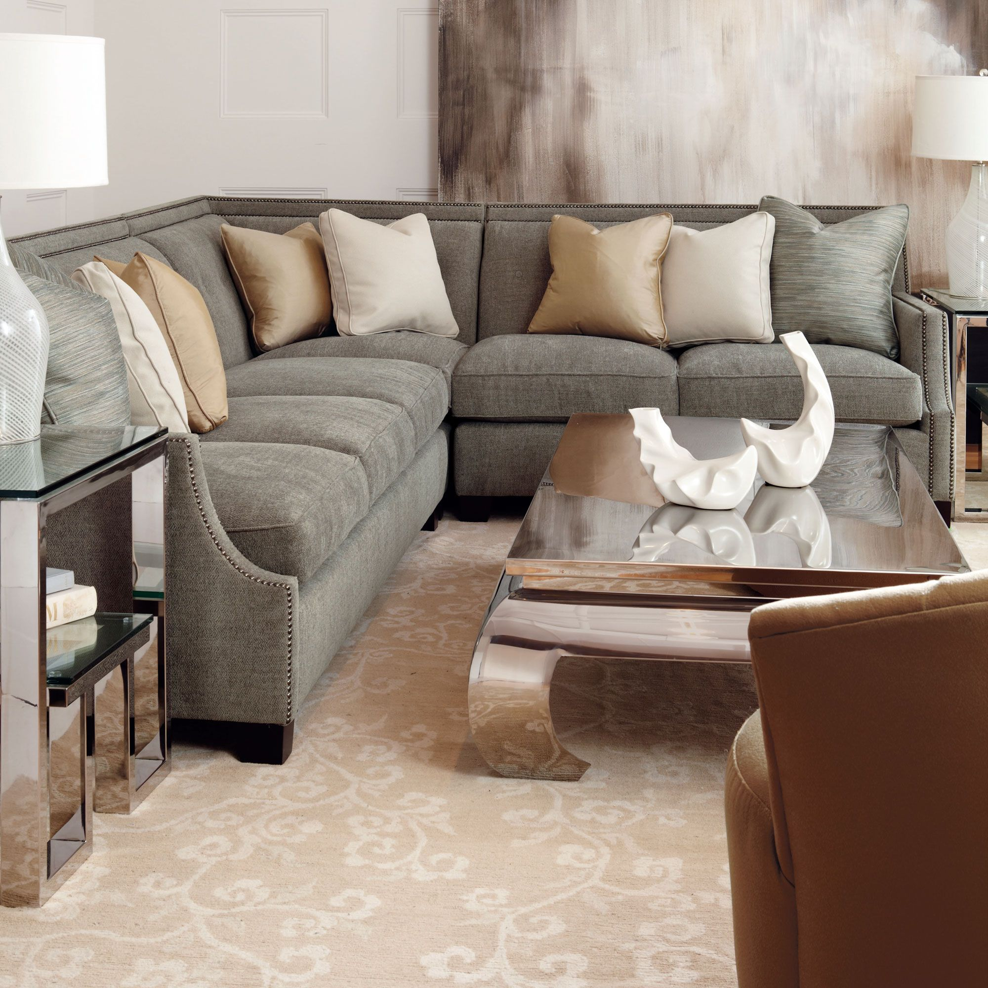 Shop for the bernhardt interiors franco sectional sofa at jacksonville furniture mart your jacksonville gainesville palm coast fernandina beach