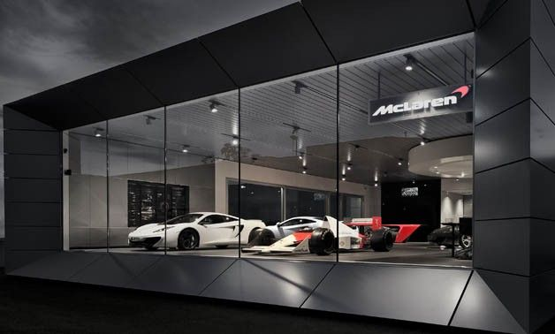 mclaren dispersing top secret unit 2 collection to showrooms architecture pinterest. Black Bedroom Furniture Sets. Home Design Ideas