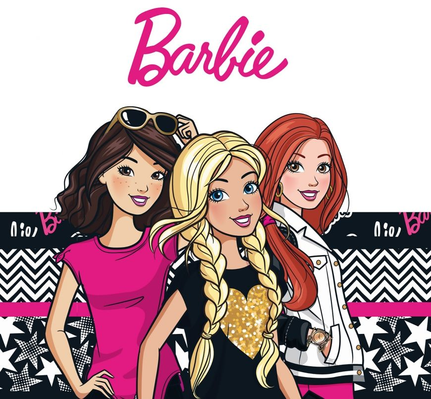 Big Cool And New Official Barbie Art Barbie Desenho