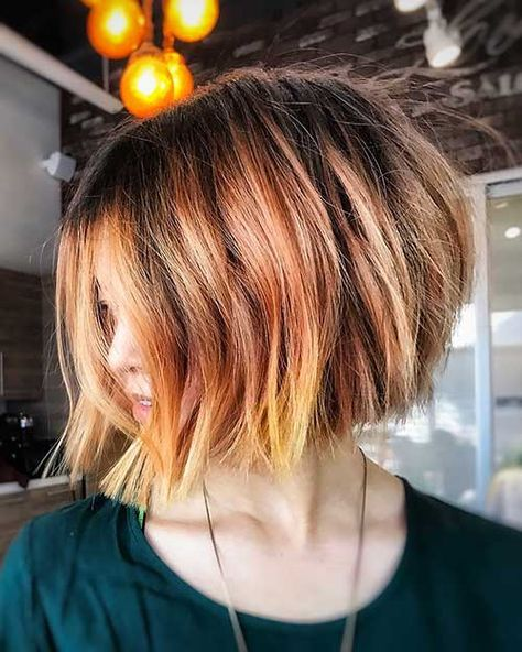 2017s Trend Alert Bob Hairstyles Favorite Hairstyles Color
