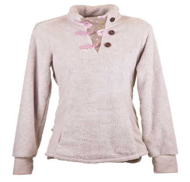 Garden Girl Fleece Pullover (Palatine Roses) | Garden Girl ...