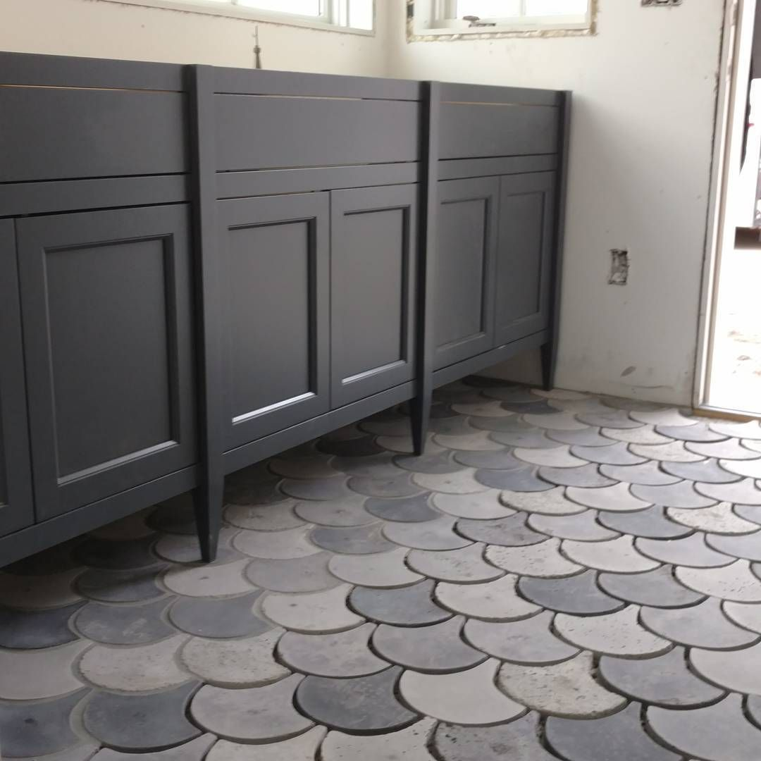 Scalloped Cement Tile From Arto Brick