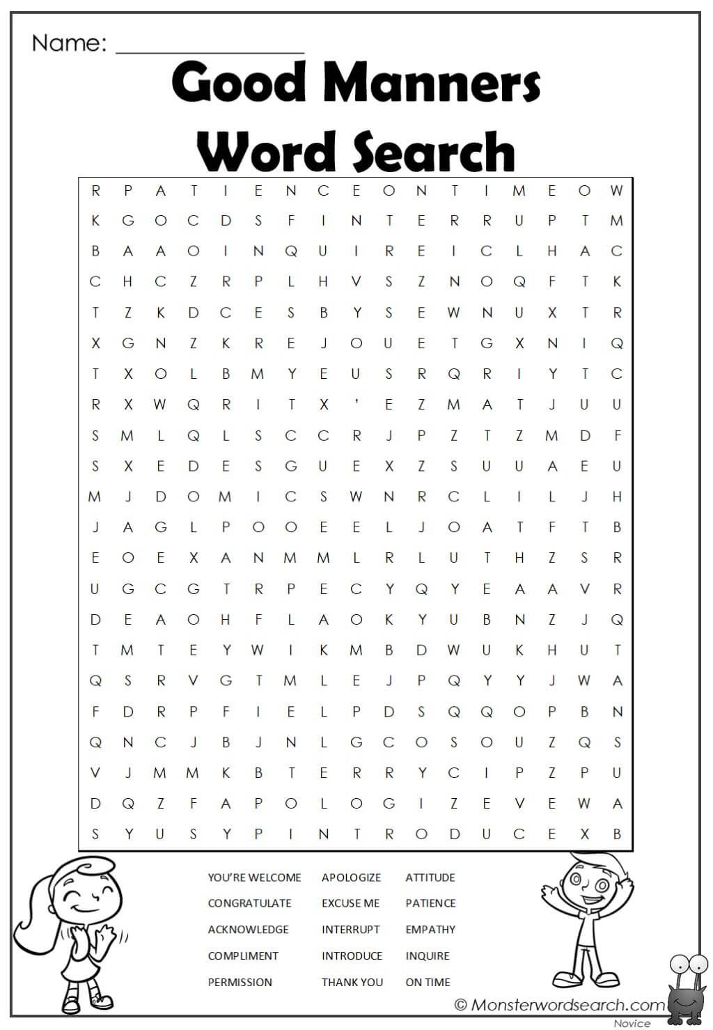 Auto Draft Kids Word Search Word Find Vocabulary Words [ 1479 x 1024 Pixel ]