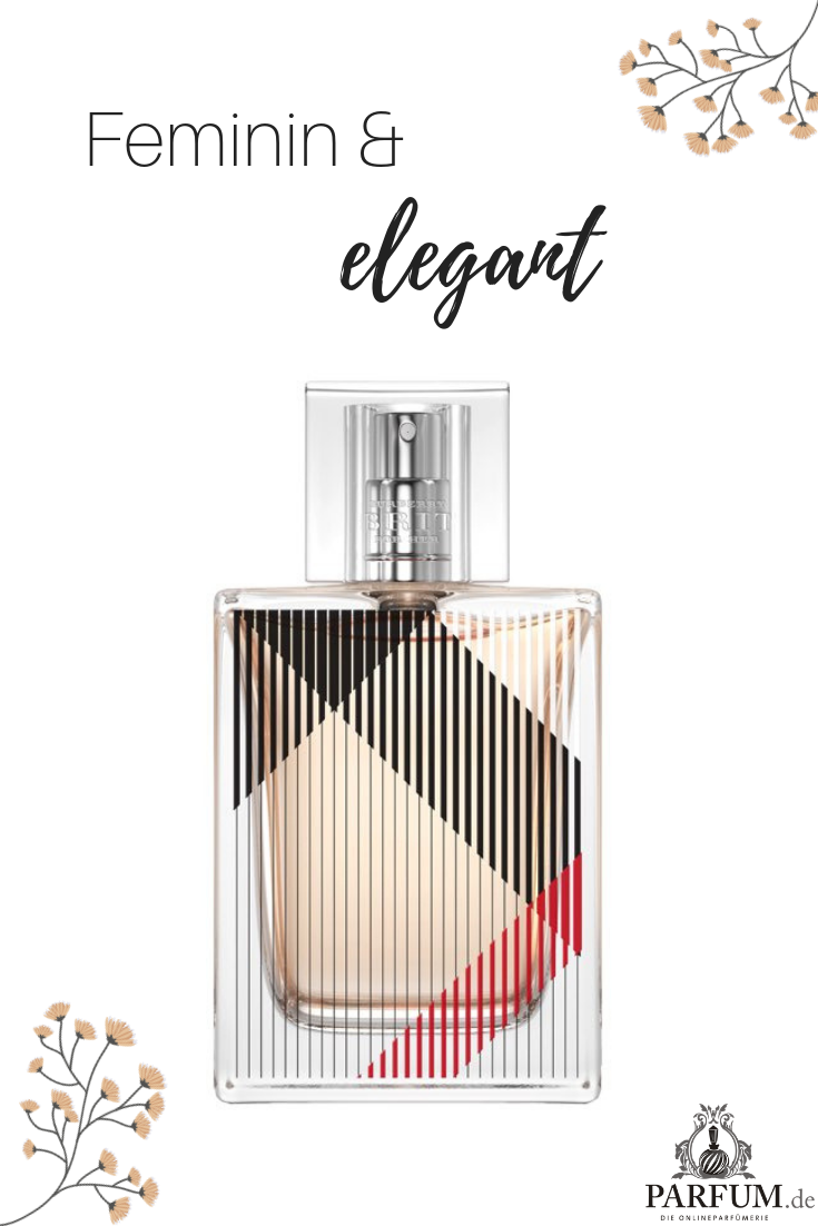 Burberry Brit For Her Eau De Parfum Ist Ein Femininer Und Eleganter