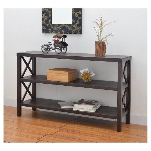 http www target com p owings console table with 2 shelves