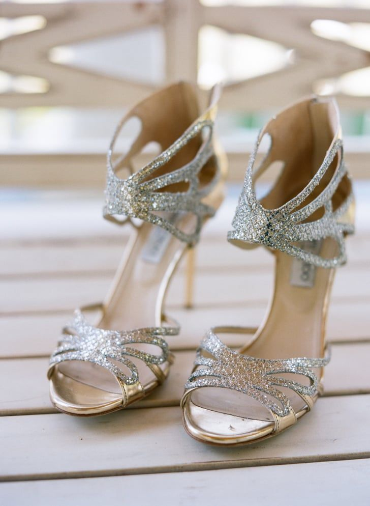 b23f0c020f8 Pin for Later  31 Gorgeous Ideas For Your Wedding Shoes All-out sparkle If  glitz is what you want