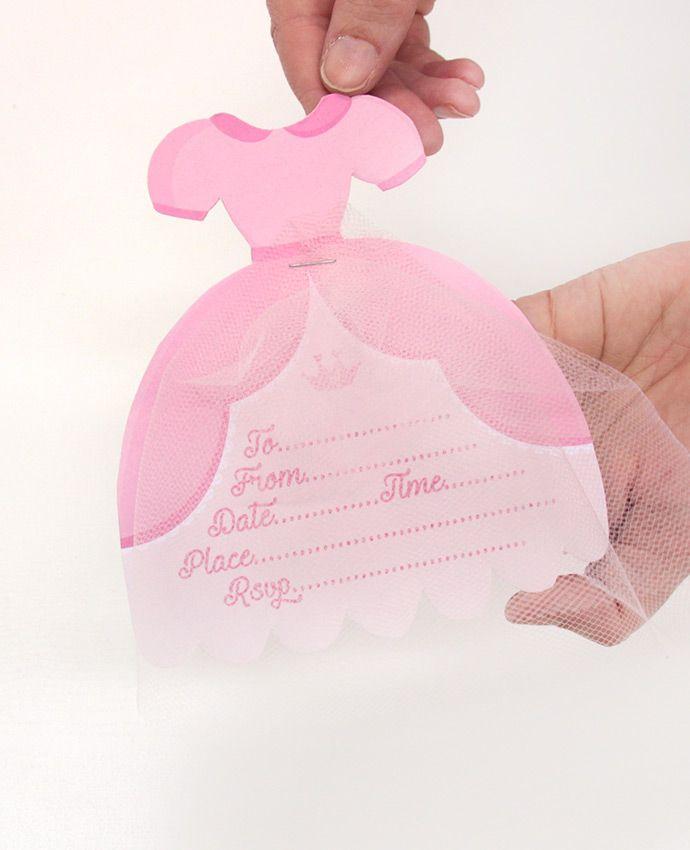 Free Printable Princess Party Invitations | Princess party ...