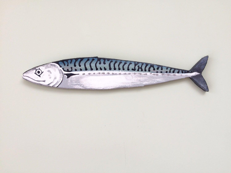 Mackerel Fish Wall Art Hanging by JessHughesDesigns on Etsy https ...