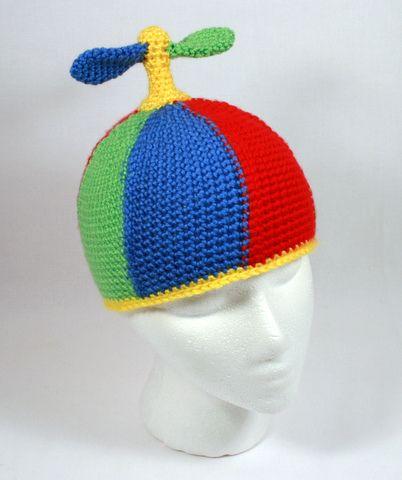 d6e0f701f5d crochet propeller hat - Google Search