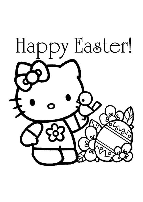 Print Coloring Image Momjunction A Community For Moms Hello Kitty Colouring Pages Free Easter Coloring Pages Hello Kitty Coloring