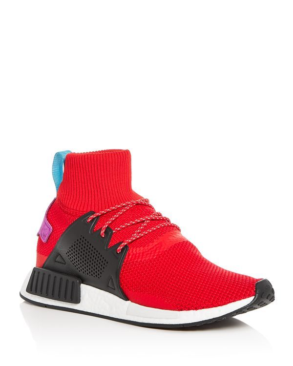 best service f5bb9 36ae4 Adidas Men s Nmd XR1 Winter Knit High Top Sneakers