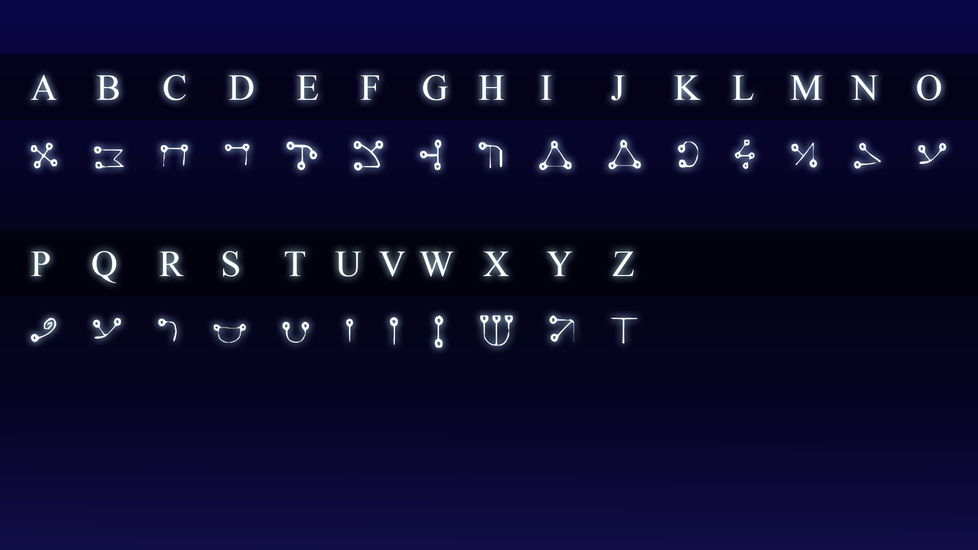 Celestial Carvings Free Downloadable Font By Myth Keeper