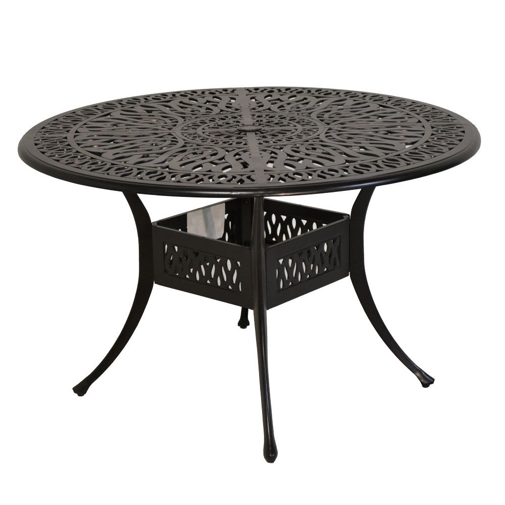 Miraculous Shoreline Cast Aluminum Cushioned Patio Dining Sets Our Home Interior And Landscaping Synyenasavecom