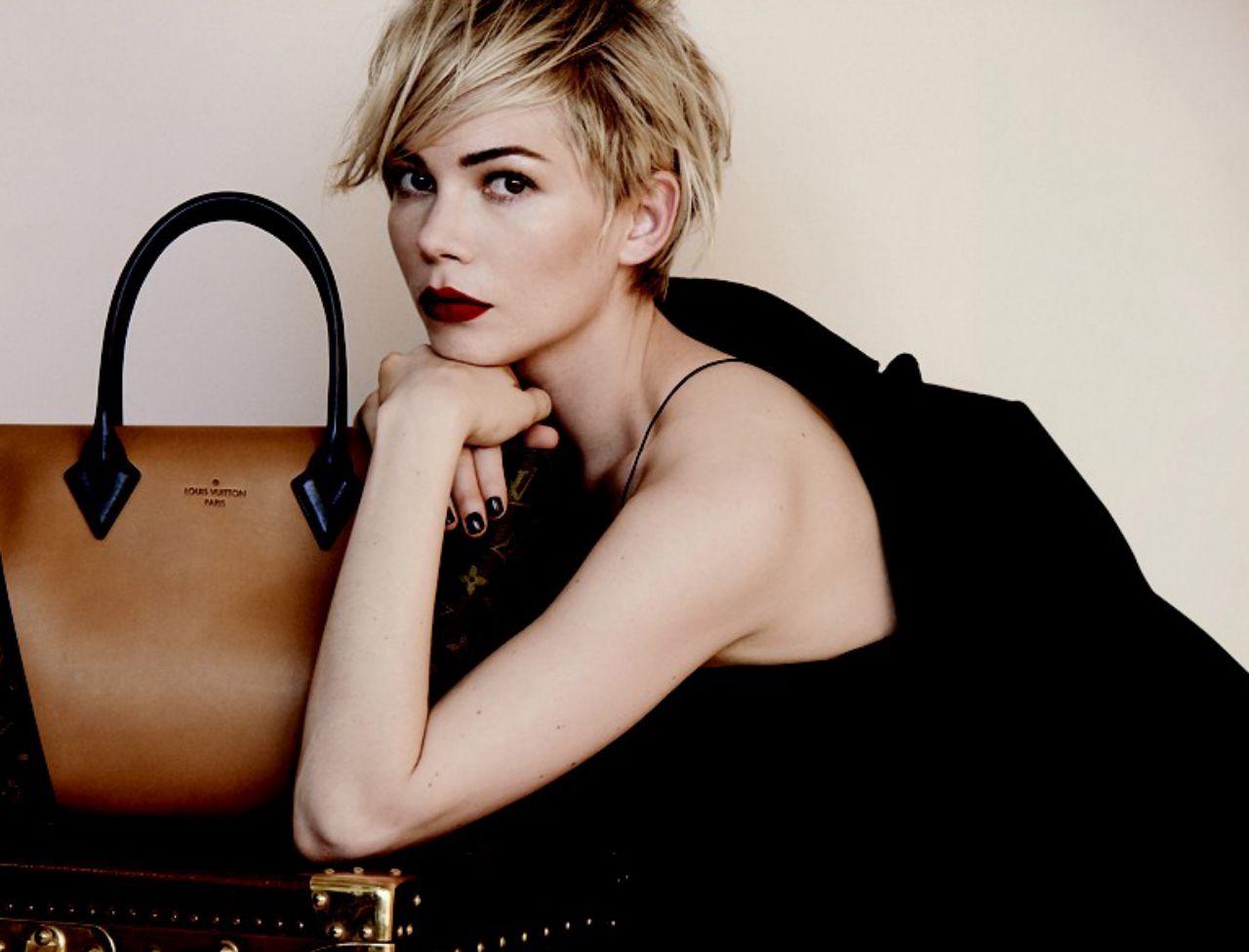 Michelle Williams égérie Louis Vuitton et son relooking