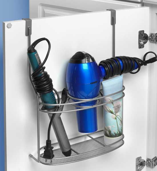 Blow Dryer Holder Is An Over The Door Styling Center Rack For All Of