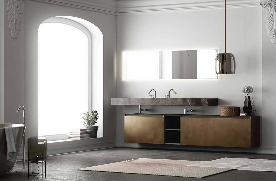 360Gradi modular system is a bath collection very contemporary and ...