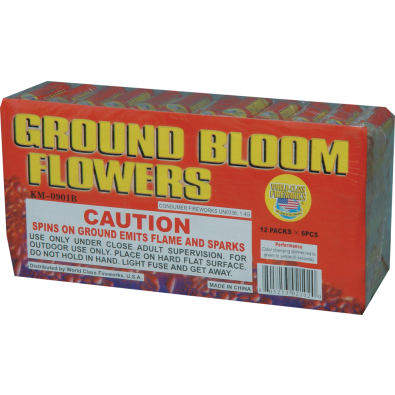 Ground Bloom Flower Spinners Jake S Fireworks Flower Spinner Bloom Flowers