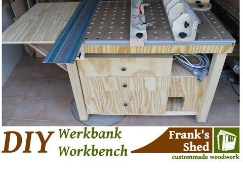 Mobile werkbank selber bauen  DIY Mobile Werkbank selber bauen / Mobile Workbench - YouTube ...