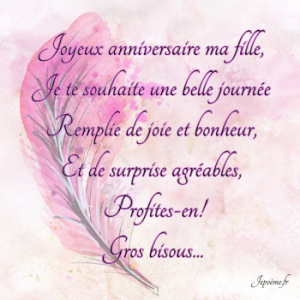 Joyeux Anniversaire Ma Fille Images Pinterest Happy Birthday