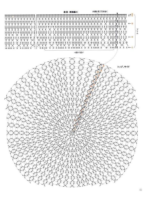 무료 공개 도안) 시원한 모자 2종 : 네이버 블로그   Crochet   Crochet ...