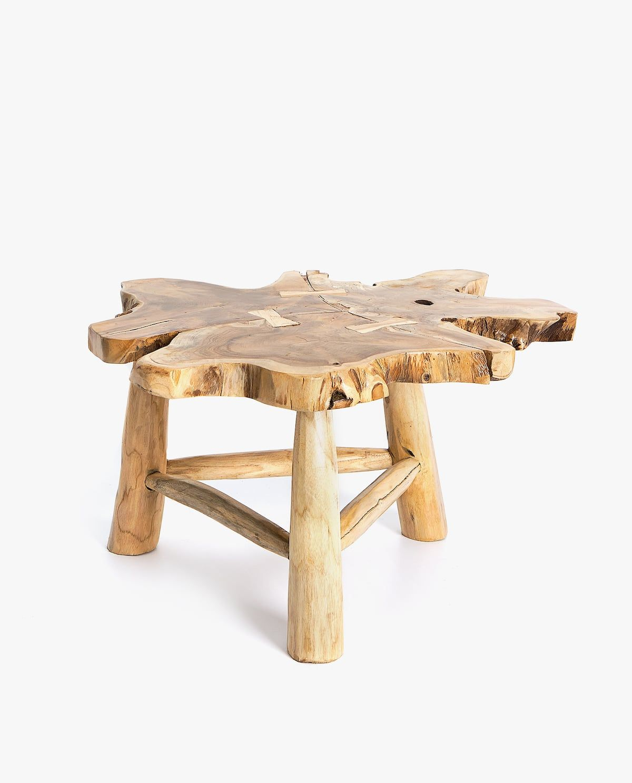 Irregular Teak Wooden Table Teak Furniture Copper Home Accessories Furniture Vancouver