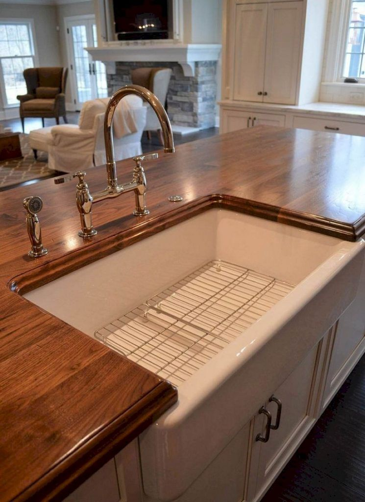 67 Cool Modern Farmhouse Kitchen Sink Decor Ideas Farmhouse