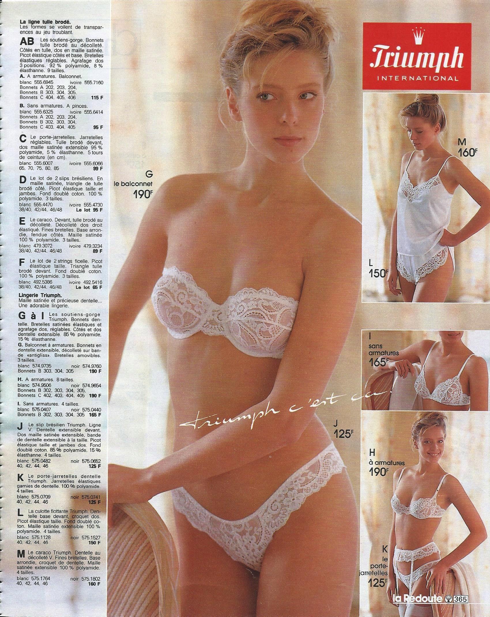 670b3c03ea La Redoute 1987-88 L - 014
