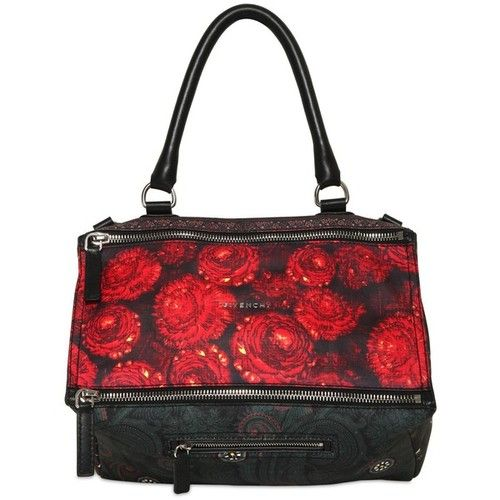 GIVENCHY Medium Pandora Flower Print Leather Bag  3  a4acbb2da7fcd
